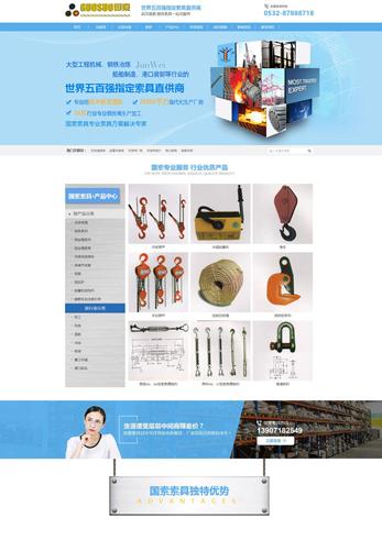 营销型网站案例-国索